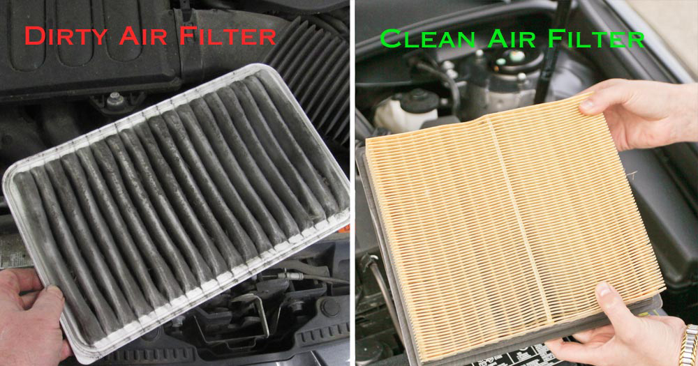 Why is it necessary to change automotive filters regularly?