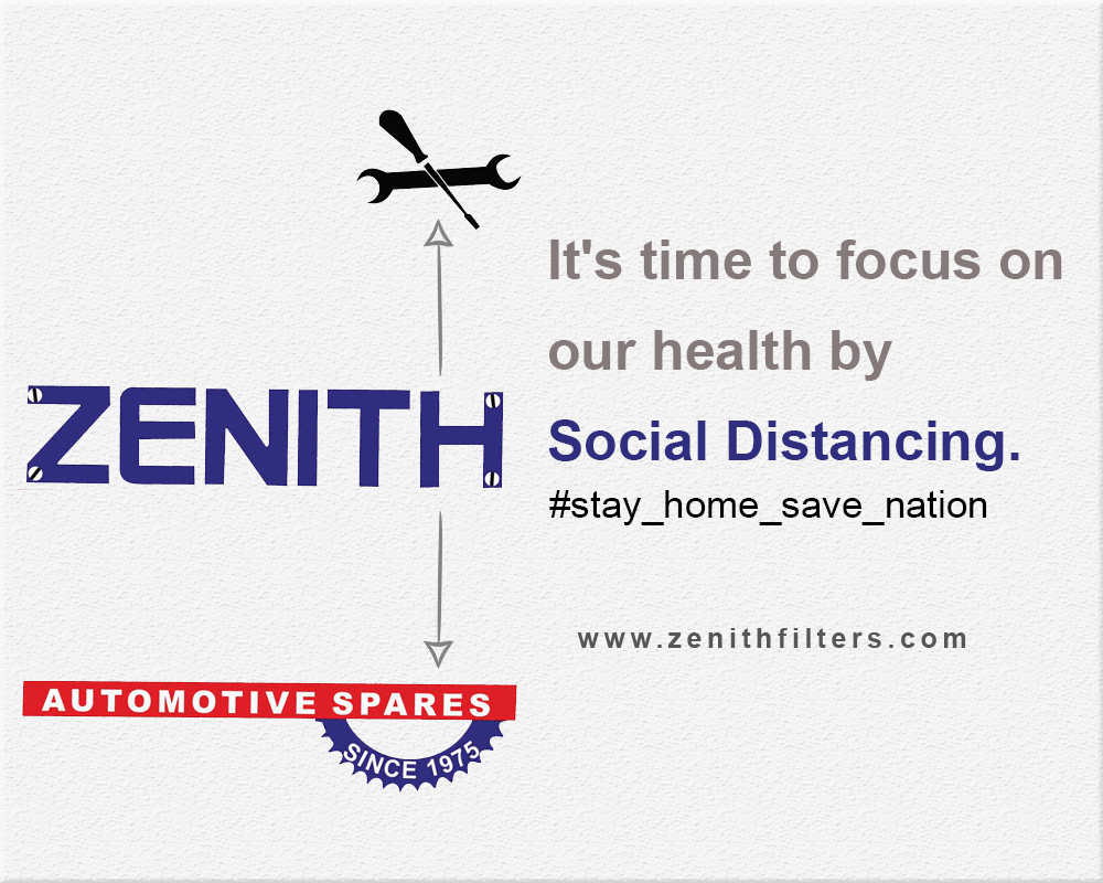 It's time to focus on our health by Social Distancing.