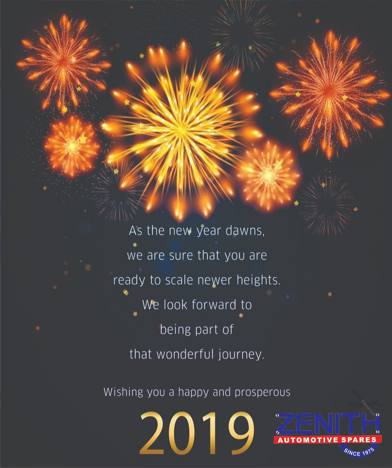 Zenith filters : Happy New Year 2019 @ New Year's Day